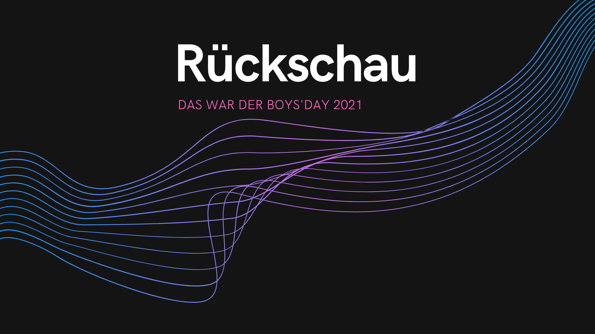 Grafik zum Boys'Day 2021