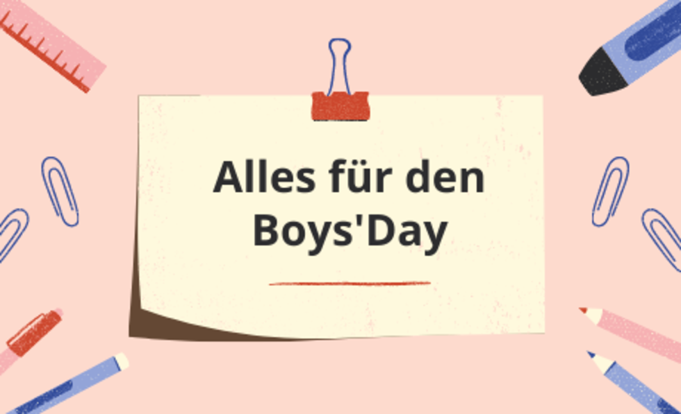 Grafik Alles für den Boys'Day